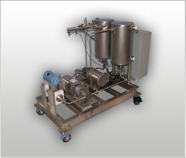 Continuous Oil Blending & Metering Skid