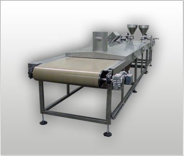Griddle Conveyor with Spot Depositor