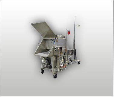Bag Dump Station Helical Feeder & Dust Hood