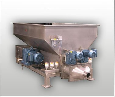 Twin Screw Masa Feeder