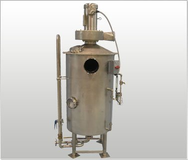 Water Bath Dust Control System