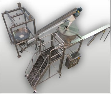 Bulk Bag Unload Scale Feeder