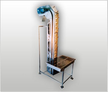 Cap Hopper Elevator Conveyor