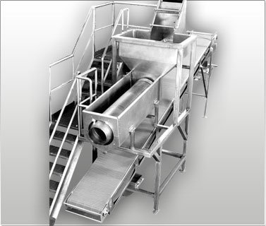 Fried Corn Puffs Equipment | Sanitary Food Processing