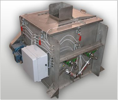 Fluidized Twin Paddle Blender